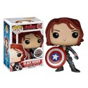 Funko Black Widow with Shield
