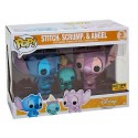 Funko Stitch, Scrump & Angel