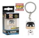 Funko Keychain White Target Suit Batman