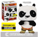 Funko Flocked Kung Fu Panda Po