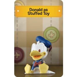 Donald as Stuffed Toy