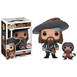 Funko Barbossa with Monkey