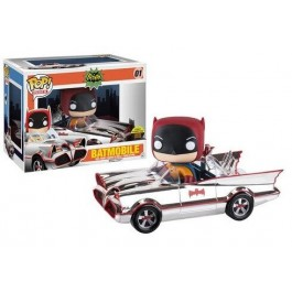 Funko Batmobile Chrome