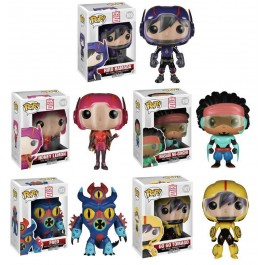 Funko Big Hero 6 - Set com 5 figuras