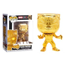 Funko Black Panther Gold Chrome