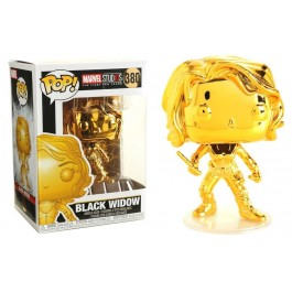 Funko Black Widow Gold Chrome