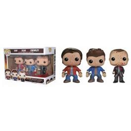 Funko Bloody Sam, Dean & Crowley
