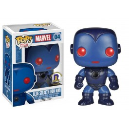 Funko Blue Stealth Iron Man Exclusive