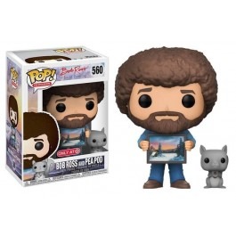 Funko Bob Ross and Pea Pod