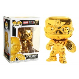 Funko Captain America Gold Chrome