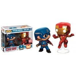 Funko CW Cap & Iron Man Action Pose