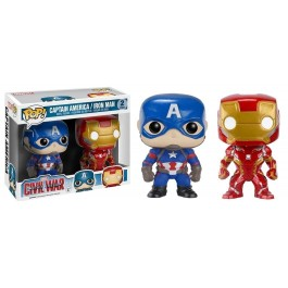 Funko CW Captain America & Iron Man