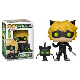 Funko Cat Noir with Plagg