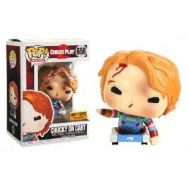 Funko Chucky on Cart