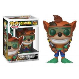 Funko Crash Bandicoot with Scuba Gear