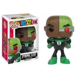 Funko Cyborg as Green Lantern