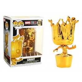 Funko Dancing Groot Gold Chrome