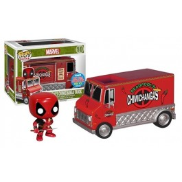 Funko Deadpool's Chimichanga Truck Red
