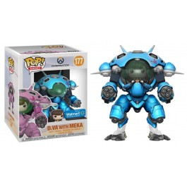 Funko D.VA with Meka Blueberry