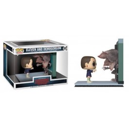 Funko Eleven and Demogorgon