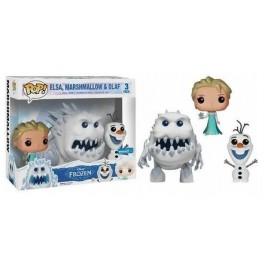 Funko Elsa, Marshmallow & Olaf