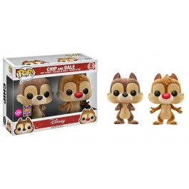 Funko Flocked Chip and Dale