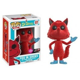 Funko Flocked Fox in Socks