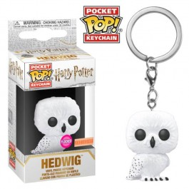 Funko Keychain Flocked Hedwig