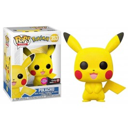 Funko Flocked Pikachu