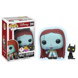 Funko Flocked Seated Sally GITD