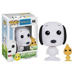 Funko Flocked Snoopy & Woodstock