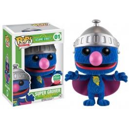 Funko Flocked Super Grover