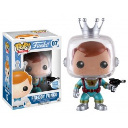 Funko Freddy Funko with Ray Gun
