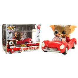 Funko Gizmo in Red Car