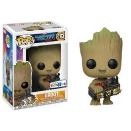 Funko Groot with Bomb