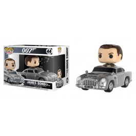 Funko James Bond with Alston Martin