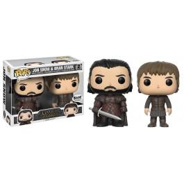 Funko Jon Snow & Bran Stark