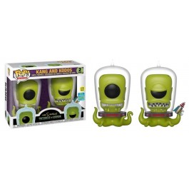 Funko Kang and Kodos GITD