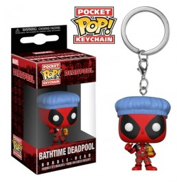 Funko Keychain Bathtime Deadpool