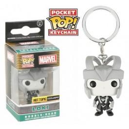 Funko Keychain Black & White Loki