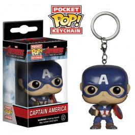 Funko Keychain Captain America