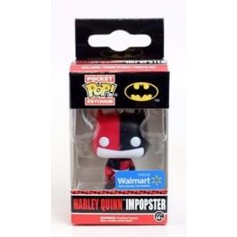 Funko Keychain Harley Quinn Impopster