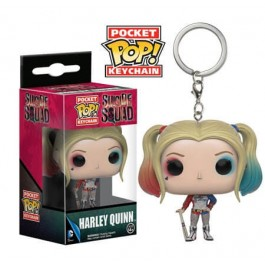 Funko Keychain Harley Quinn