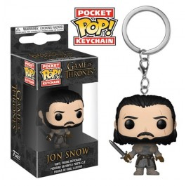 Funko Keychain Jon Snow Beyond the Wall