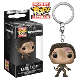 Funko Keychain Lara Croft