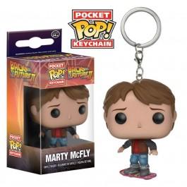 Funko Keychain Marty McFly