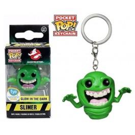 Funko Keychain Slimer GITD