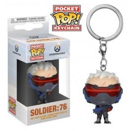Funko Keychain Soldier 76