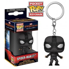 Funko Keychain Spider-Man Stealth Suit