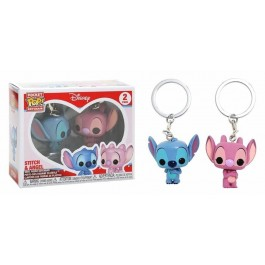 Funko Keychain Stitch & Angel